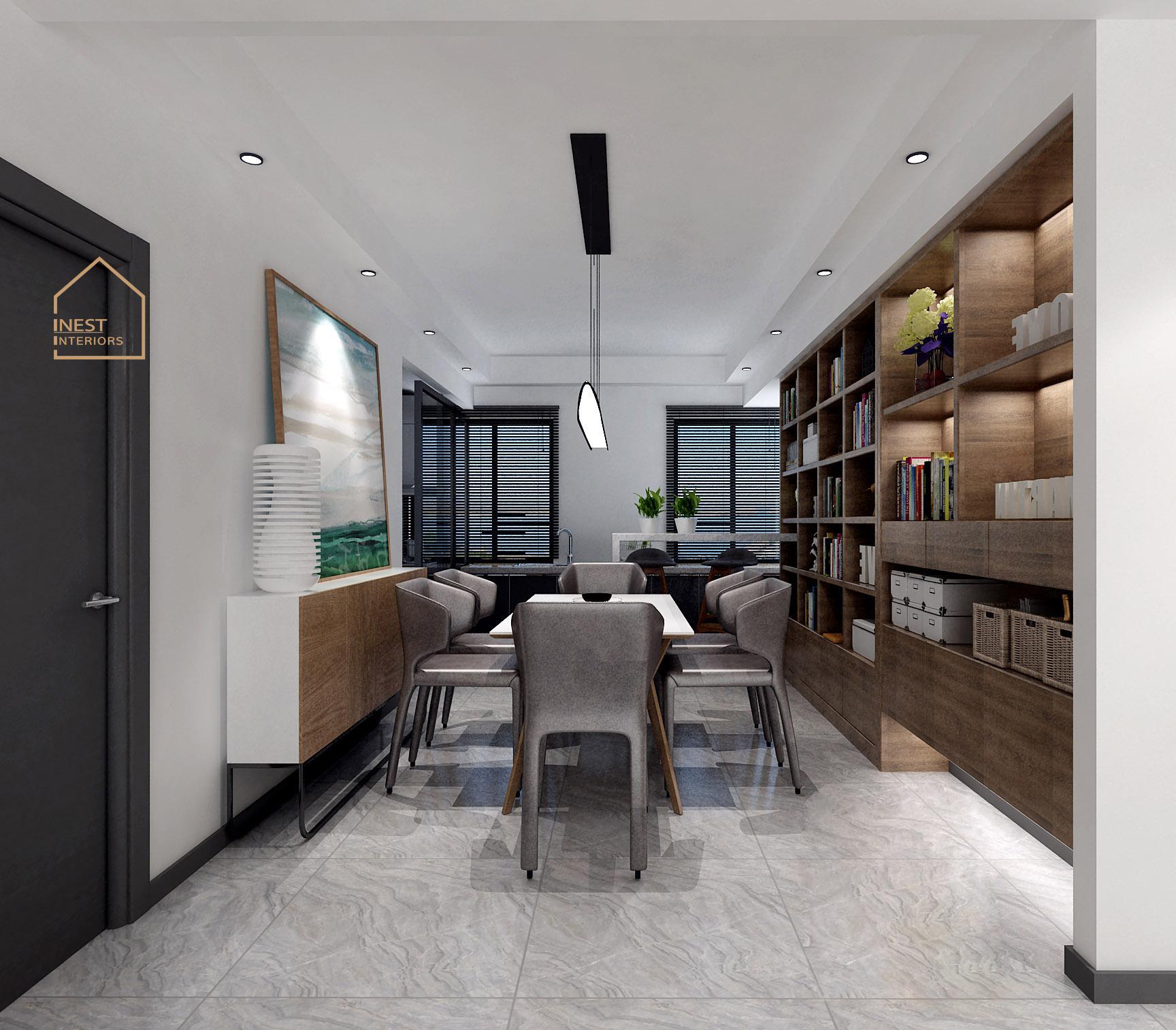 Ý tưởng thiết kế nội thất chung cư 3 phòng ngủ theo phong cách hiện đại