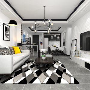 Thiết kế nội thất chung cư 60m2 theo phong cách tối giản Bắc Âu