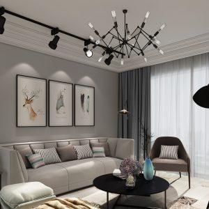 Thiết kế phòng khách 3 phòng ngủ