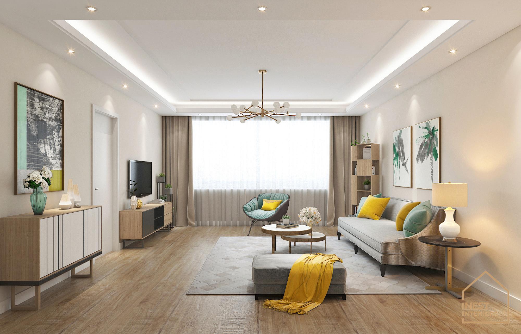 Thiết kế nội thất 3 phòng ngủ cao cấp