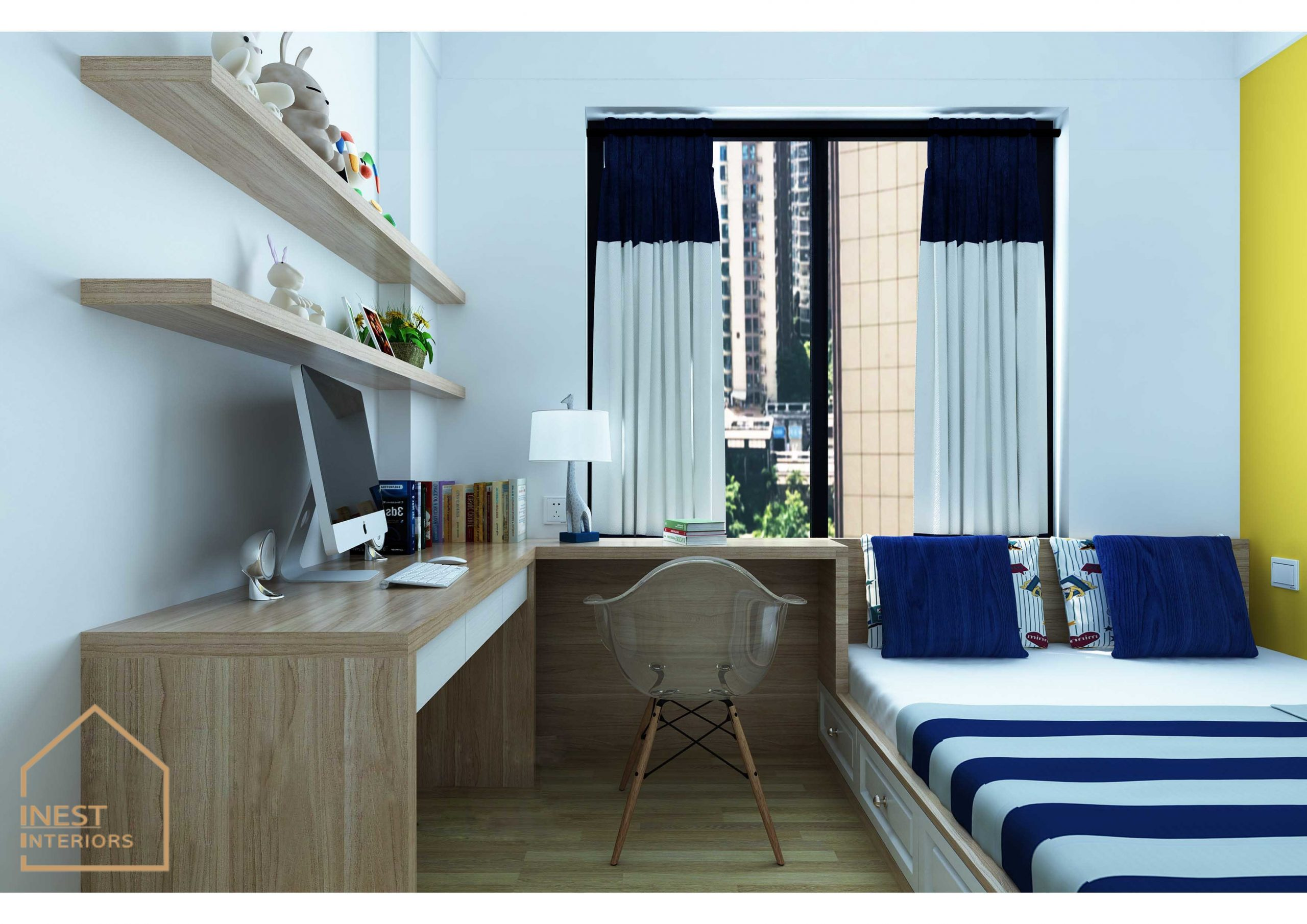Thiết kế 3 phòng ngủ nội thất chung cư
