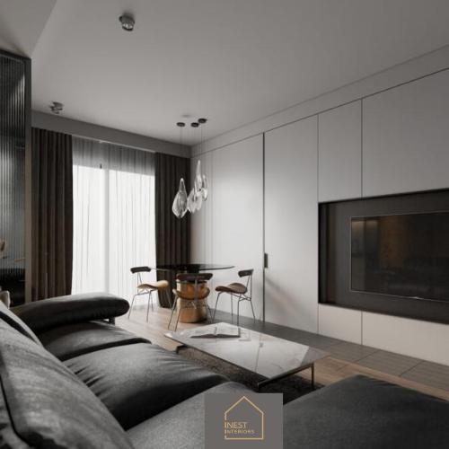 Thiết kế Nội Thất Căn hộ 2 phòng ngủ 50m2 - Phong cách Minimalism