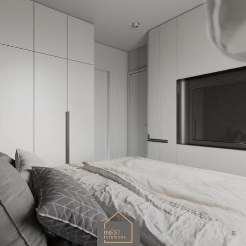 Nội thất được tận dụng trong phòng ngủ
