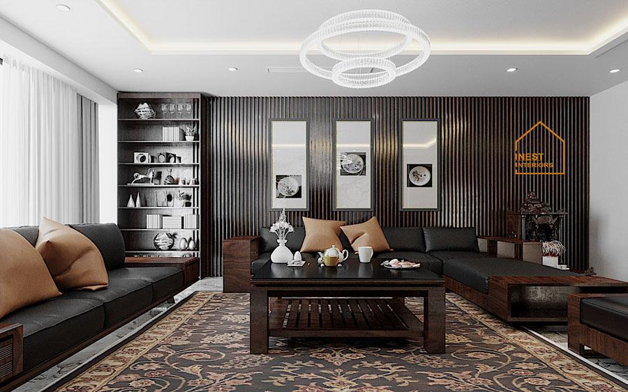 thiết kế nội thất biệt thự Hưng Yên