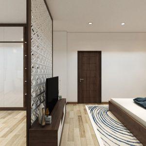 thiết kế nội thất nhà phố Phủ Lý