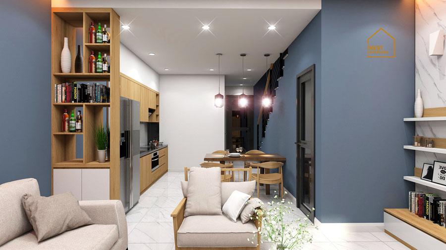 thi công thiết kế nội thất nhà phố