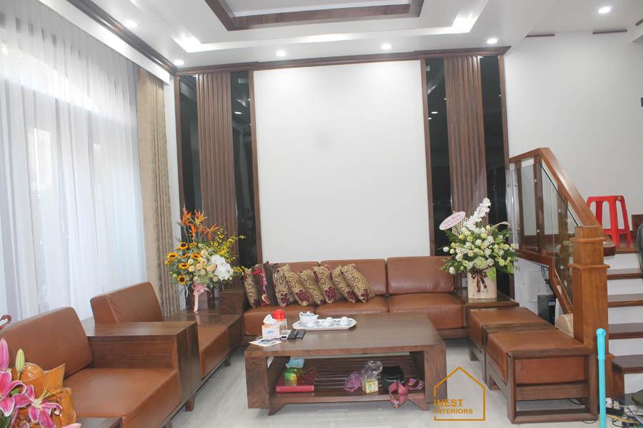 thi công nội thất biệt thự Vincom Hải Phòng