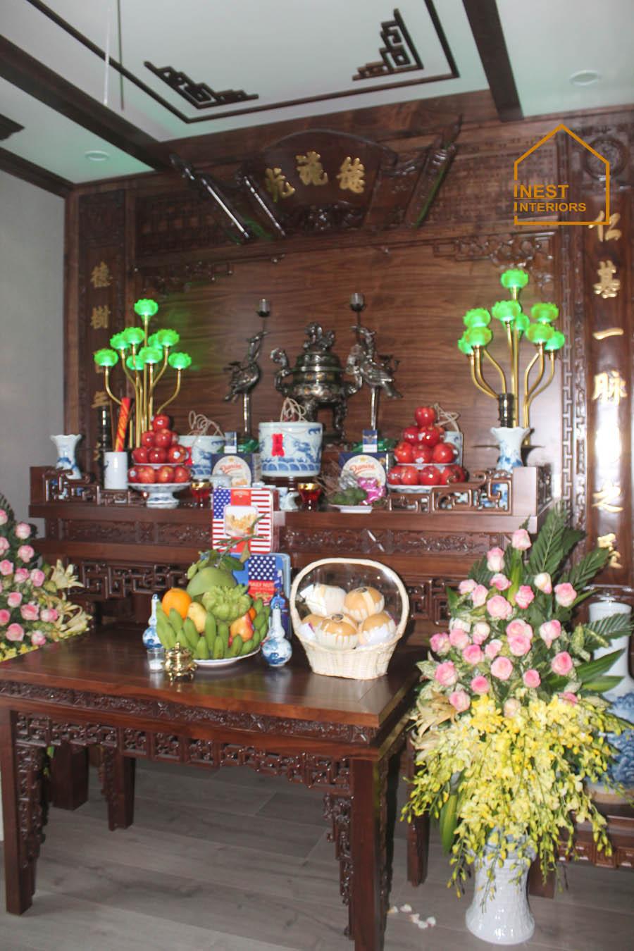 thi công nội thất biệt thự Vincom Long Biên