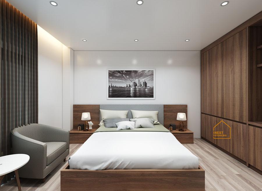 thiết kế nội thất khách sạn Bình Minh