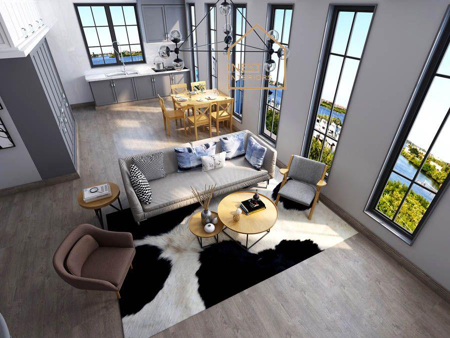 Ý tưởng thiết kế phòng khách