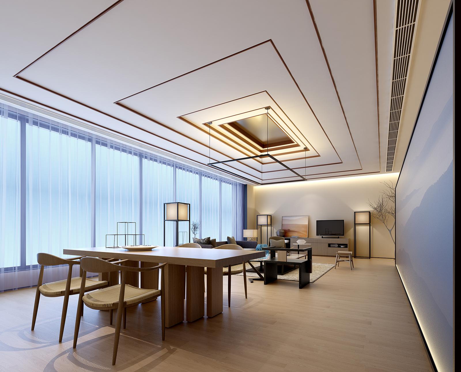 thiết kế căn hộ với phong cách tối giản cùng Inest