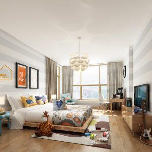 Nội thất căn hộ chung cư sky garden