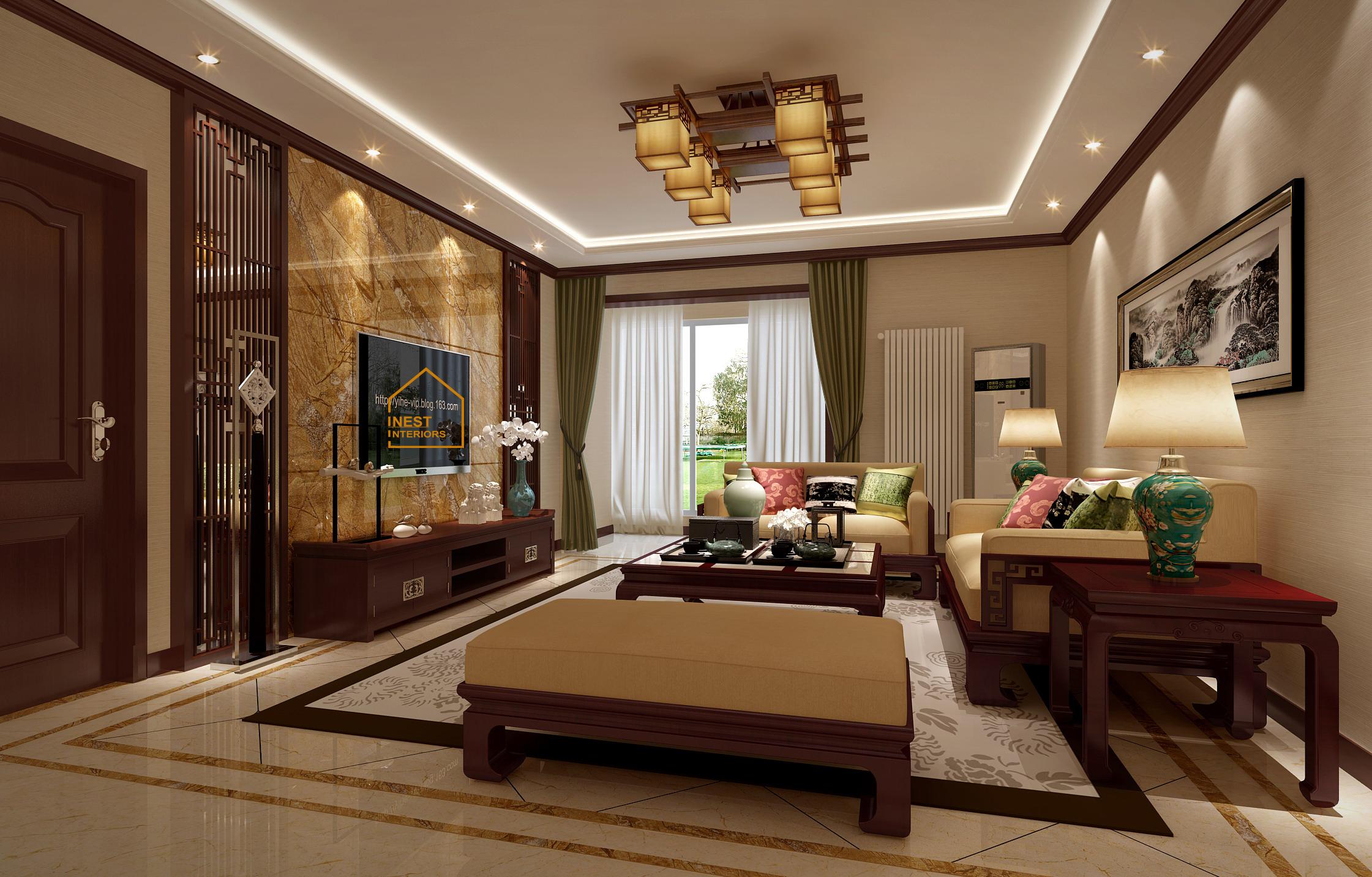 Thiết kế nội thất chung cư Time city theo phong cách Á Đông