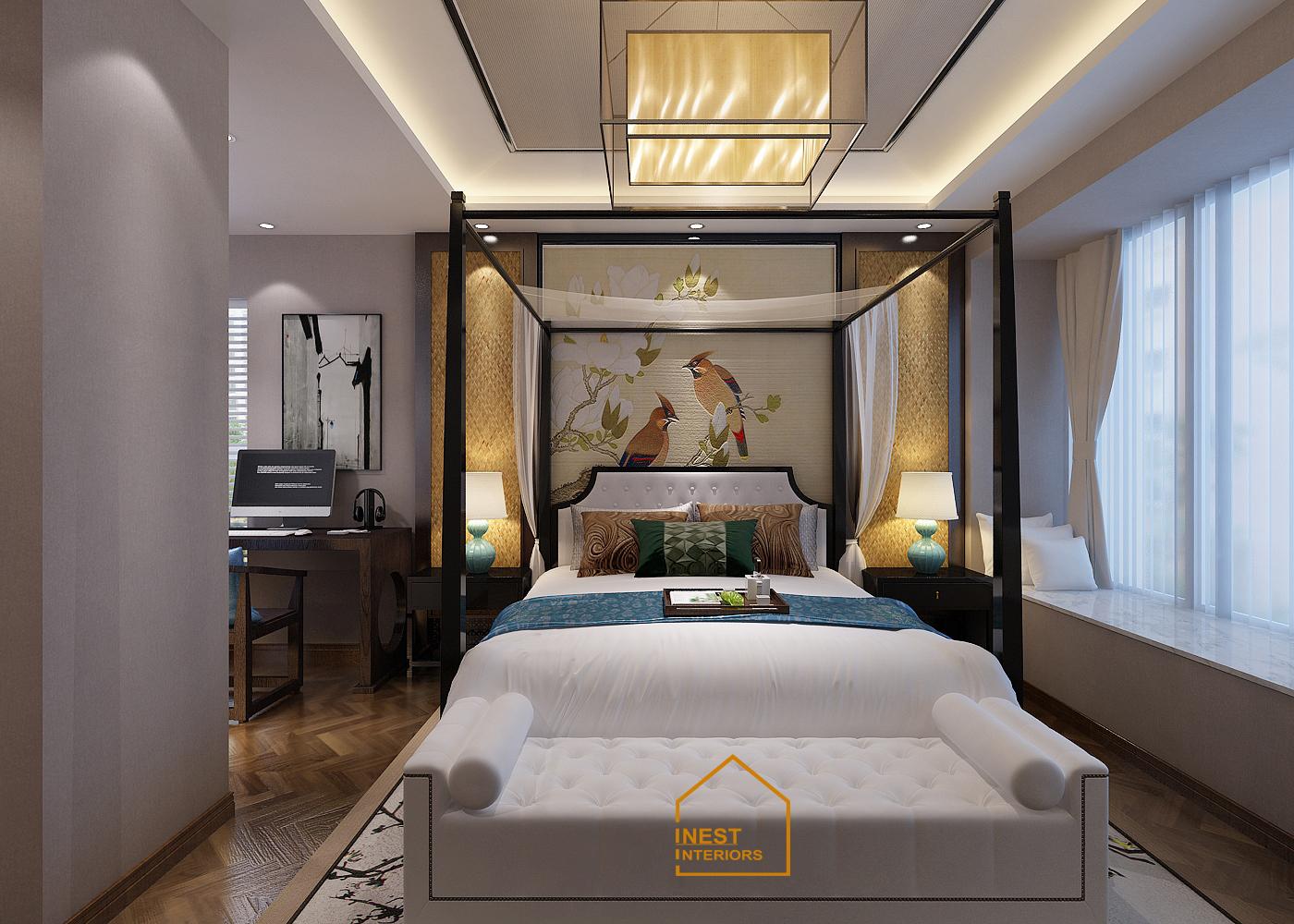 Thiết kế nội thất biệt thự Quảng Ninh