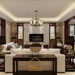 Thiết kế nội thất nhà phố Nam Định