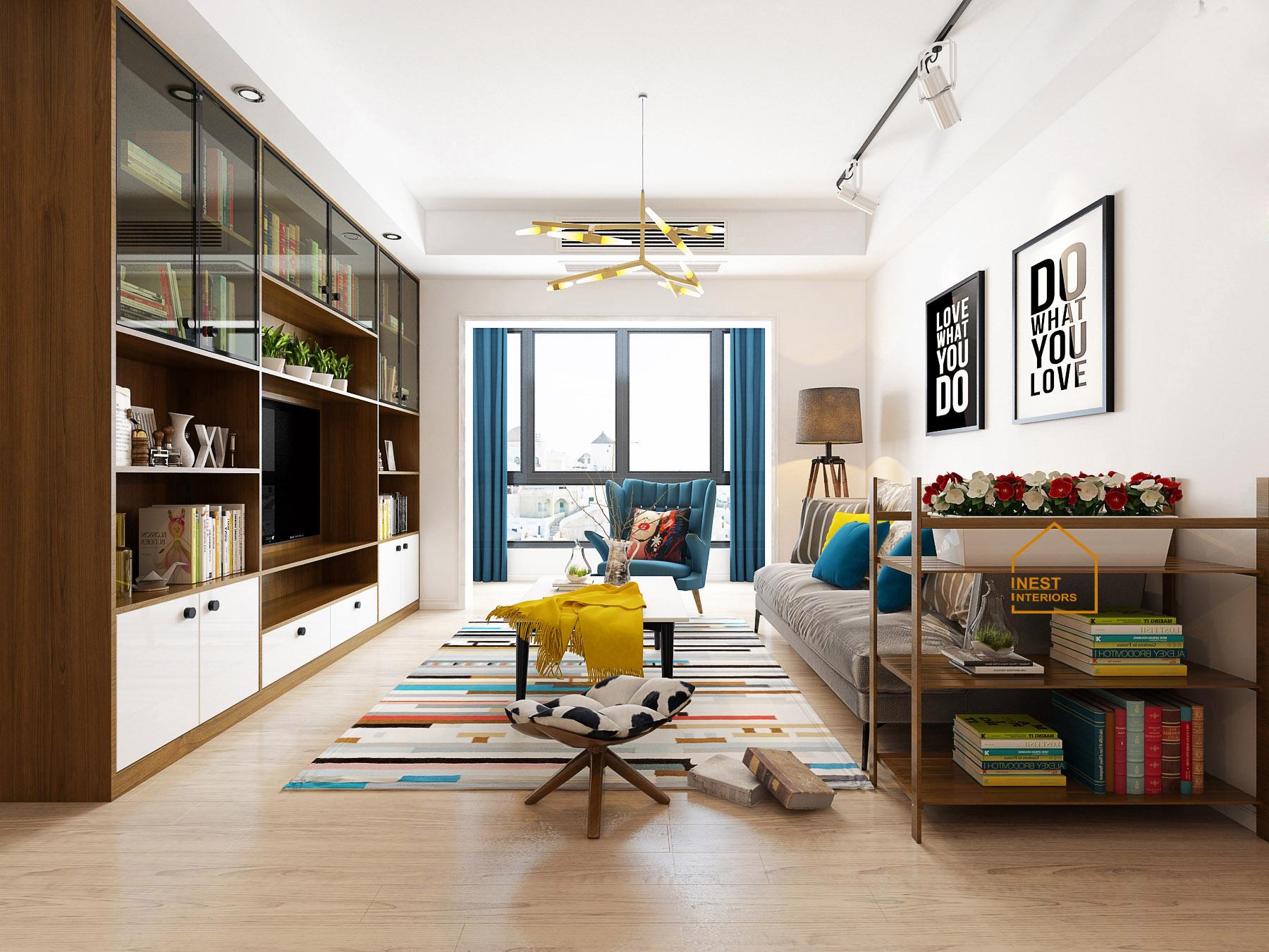 Thiết kế nội thất căn hộ vinhomes ocean park