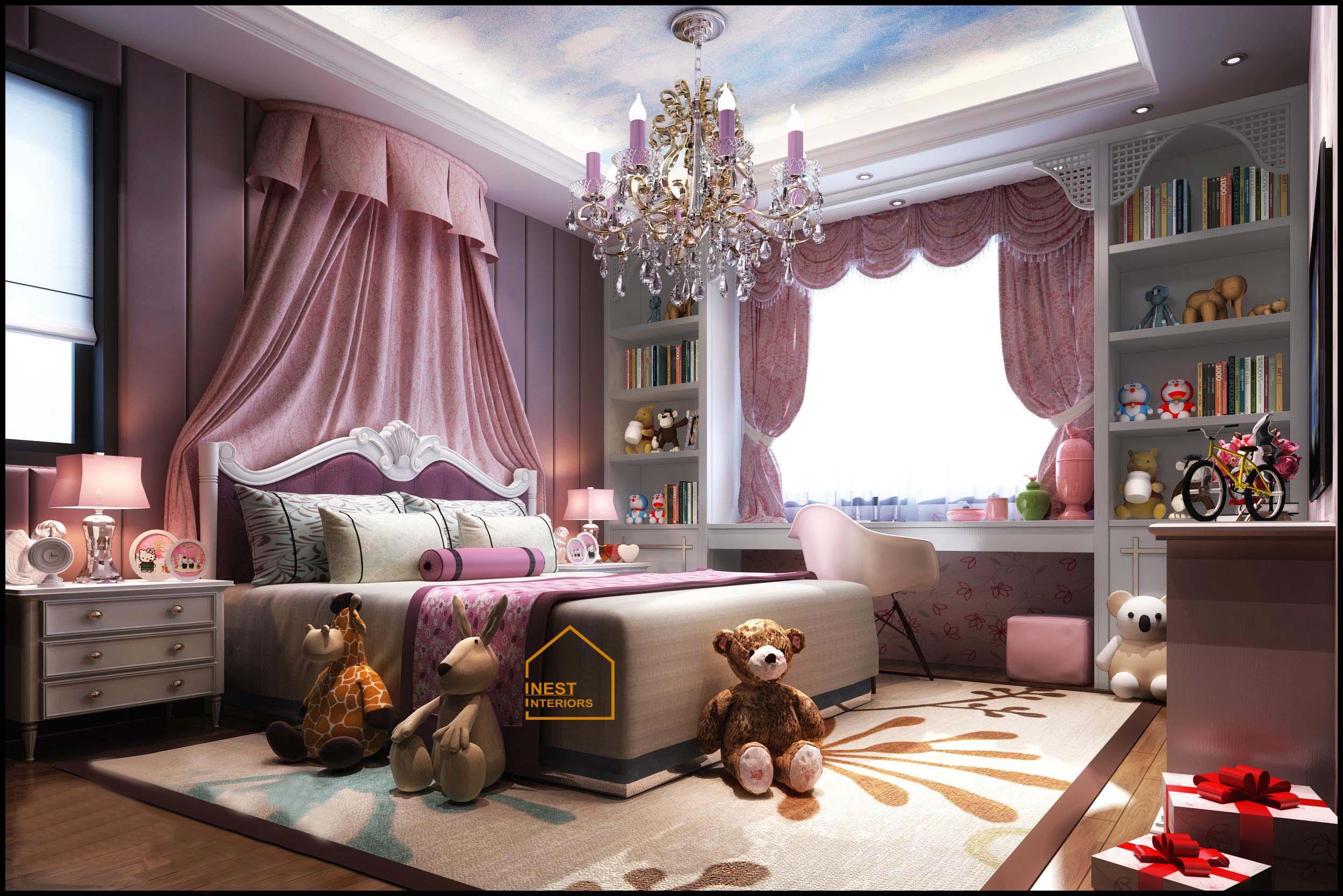 thiết kế nội thất chung cư tân hoàng minh