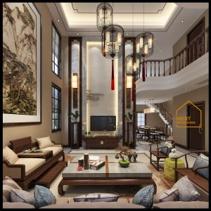 Thiết kế nội thất penthouse pack city