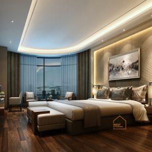Thiết kế nội thất chung cư element tây hồ