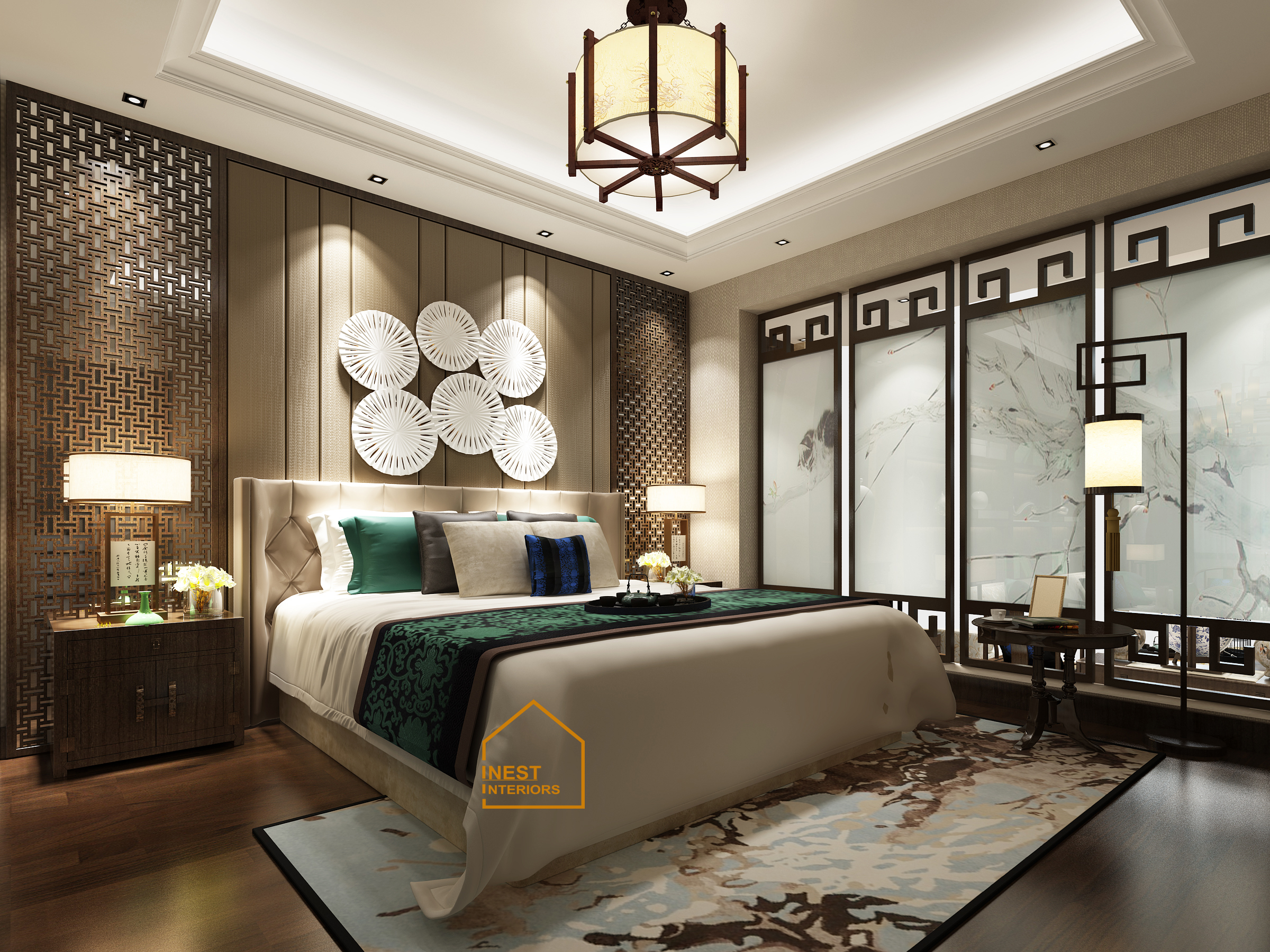 Nội thất penthouse pack city