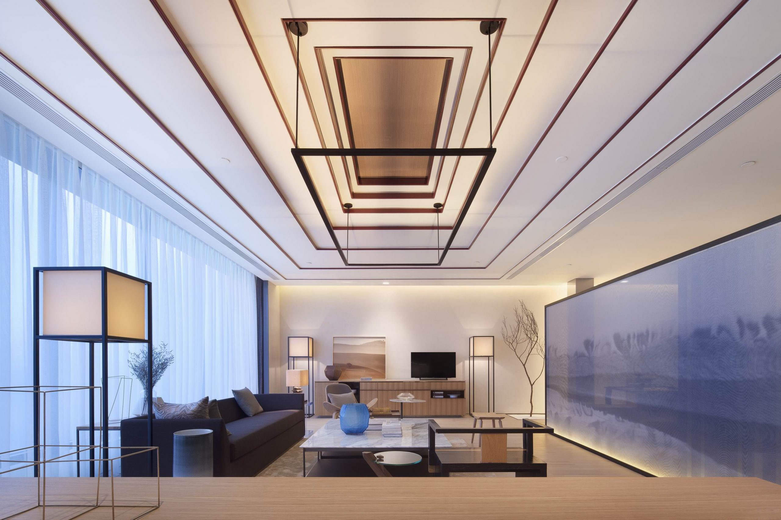 Công ty nội thất Inest thiết kế căn hộ với phong cách tối giản