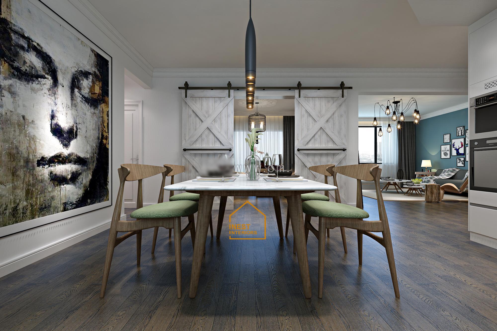 Thiết kế nội thất căn hộ chung cư sky garden