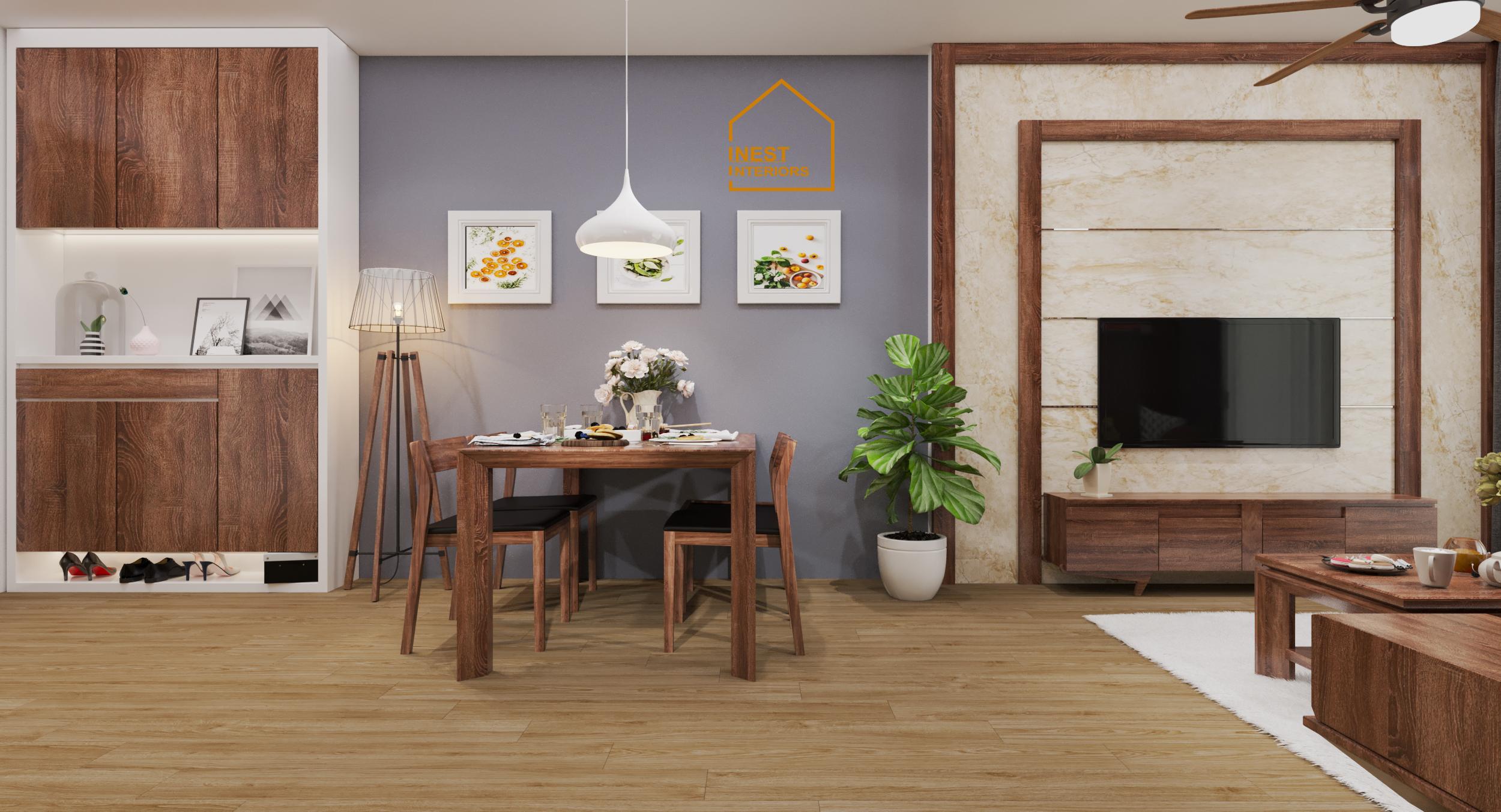 Nội thất căn hộ vinhome smartcity