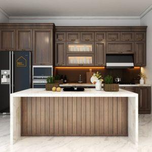 Thiết kế công năng phòng bếp