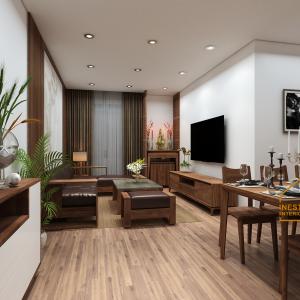 thiết kế thi công nội thất căn hộ sunshine city